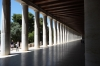 Stoa of Attalos, erected by Attalos II, King of Pergamon 159-138BC, rebuilt by USA