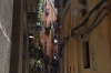 Narrow streets in Barcelona's El Born district