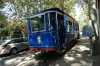 Going to Tibidabo on the Blue Tram, Barcelona