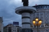 Dusk in Alexander Square, Skopje MK