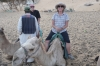 Camel ride to Nubian Village, Aswan