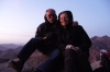 Dawn on Mt Sinai - Bruce and Thea