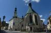 Old Town Hall and St Catherine's Church, Banská Štiavanica SK