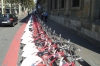 Barcelona offers its residents bikes to get around town. ES