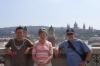 Hayden, Thea & Bruce in Barcelona. ES