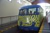 the zebra cable car at Tibidabo, Barcelona ES