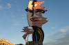 Joan Miro's face at la Barceloneta