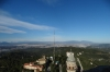 View toward Cerdanyola from the spire at Tibidabo