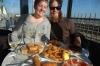 Ev & Steph enjoy tapas lunch at Badalona