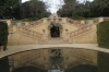 Stairs over the Romantic Canal. Parc del Laberint