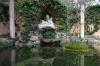 Grotto behind the Neoclassic Pavilion. Parc del Laberint