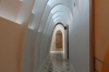 Passageway on top level (maids' quarters). Casa Batlló, Barcelona