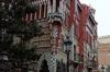 Gaudi's Casa Vicens in Gracia, Barcelona