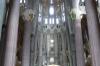 Towards the altar at Sagrada Familia
