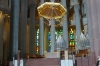 Above the altar of Sagrada Familia, Barcelona ES