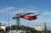The red plane on Tibidabo, Barcelona ES