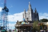 Tibidabo - church & funfair