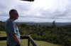 the view from the fire lookout in Waipoua forest NZ