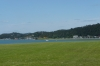 View from the Waitangi Treaty Grounds, Bay of Islands NZ