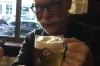 After many visits, Bruce discovered our favourite German pub served Budvar. Happy! Berlin DE