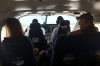 Our international flight from Flores to Belize City, in a single prop, 20 seater