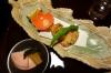 Blow Fish, second Japanese meal at the Kurodaya Ryokan, Beppu, Japan