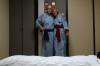 Sleeping arrangements at  Kurodaya Rykan Hotel, Beppu, Japan