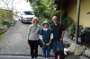 Bruce & Thea with our hostess Yuiki, Kurodaya Ryoka, Beppu, Japan