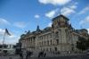Reichstag building, home of German parliament, Berlin DE