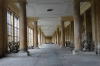 During winter exotic and precious plants were housed in this long hall, Orangery Palace, Sanssouci Park, Potsdam DE