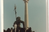 Neptune in front of the TV tower in East Berlin.