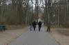 Bruce, Hayden and Andrea in the Tiergarten, Berlin DE