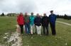 Thea, Heinz, Mieke, Martine, Bruce & Denis walking up Mt Chasseron CH