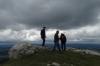 Denis, Heinz & Bruce. Views from Mt Chasseron CH