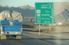 On the road from Shiraz to Esfahan