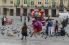 Balloon seller in Plaza Bolivar, Bogotá CO
