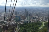 View from cable car to Monserrate, Bogotá CO