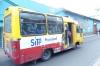 Typical urban bus in Bogotá CO