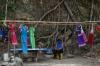 Local dresses for sale. Cascada San Ramon near Boquete