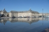 Place de la Bourse reflected in the Miroir d'Eau, Bordeaux