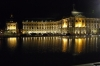 Place de la Bourse reflected in the Miroir d'Eau, evening, Bordeaux