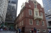 Old State Meeting House and site of Boston Massacre. Boston Freedom Walk