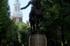 Statue of Paul Revere. Boston Freedom Walk
