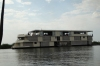 Zambesi Queen is the largest riverboat on the Chobe River, Botswana