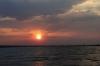 sunset over Chobe National Park, Botswana