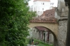 Outer wall and stream for moat, Brasov