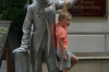 Statues around Bratislava SK