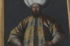 Ottomon Sultan Murad III portrait in Knight's Hall, Red Stone Castle near Častá SK