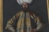 Ottomon Sultan Murad III portrait in Knight's Hall, Red Stone Castle near Častá SK