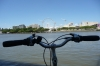 Brisbane on a Bike - looking towards South Bank QLD